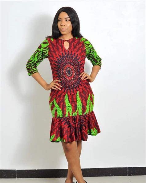 beautiful ankara short gown styles  stylish