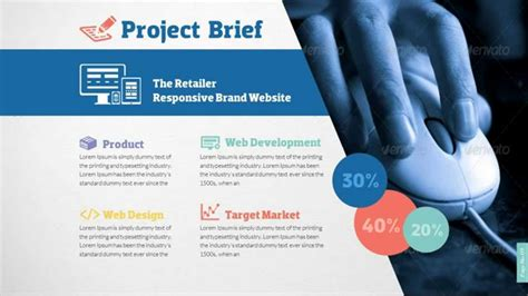 Web Design Development Project Presentation Template Youtube Template For Project Presentation
