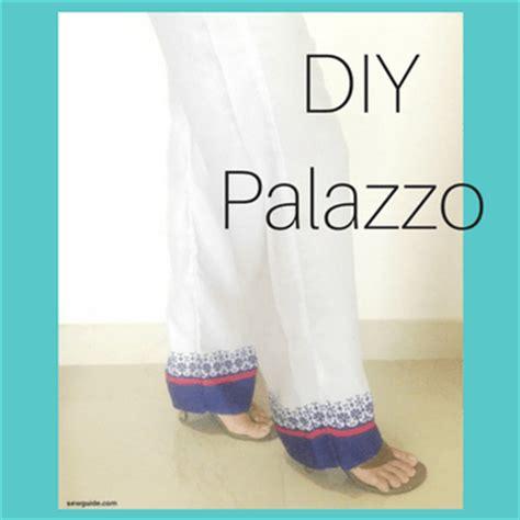 pattern making of palazzo pants how to make palazzo pants free diy pattern sew guide