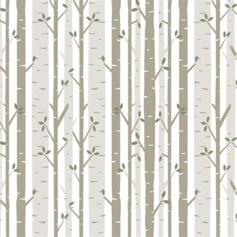 birch tree fabric fabric bartlett craft spoonflower
