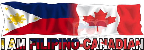 I Am Filipino Canadian Filipino Canadian Flag Philippines Canada Flag