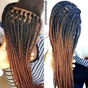 box braids with 2 packs of hair ps nice and hair on pinterest