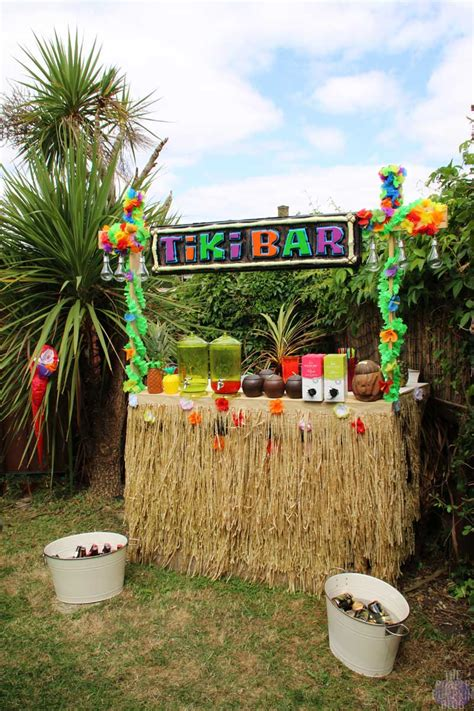 tiki decorations home how to build a tiki bar using old pallets part 2 187 the