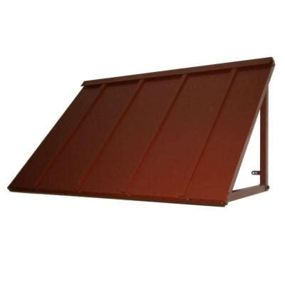 metal awnings home depot beauty mark 4 ft houstonian metal standing seam awning