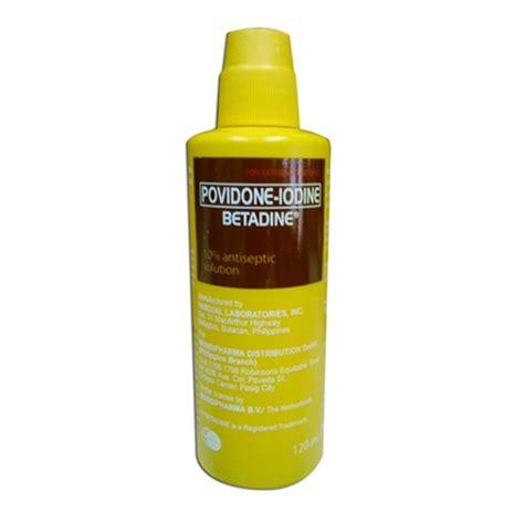 Povidone Iodine by Povidone Iodine 10 Betadine Philippine Supplies