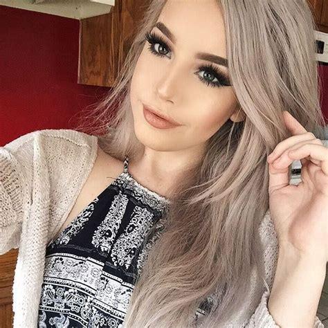 see models with sheik gray colo hair styles m 225 s de 1000 ideas sobre cabello color ceniza en pinterest