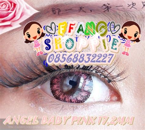 Baby Colour 172mm Free Lenscase baby colour 17 2mm softlens maniac