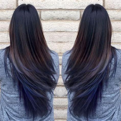 brown with underneath hair best 25 blue brown hair ideas on pinterest dark hair