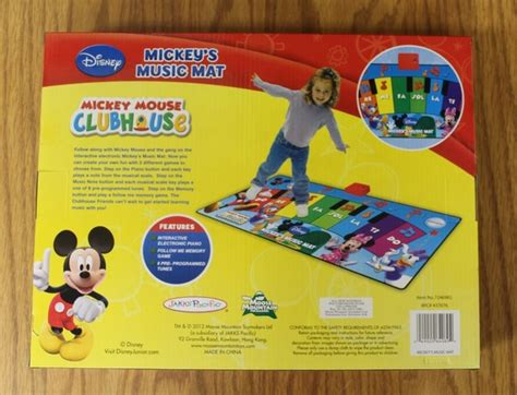 Disney Junior Mat - nib mickey mouse clubhouse mat electronic piano
