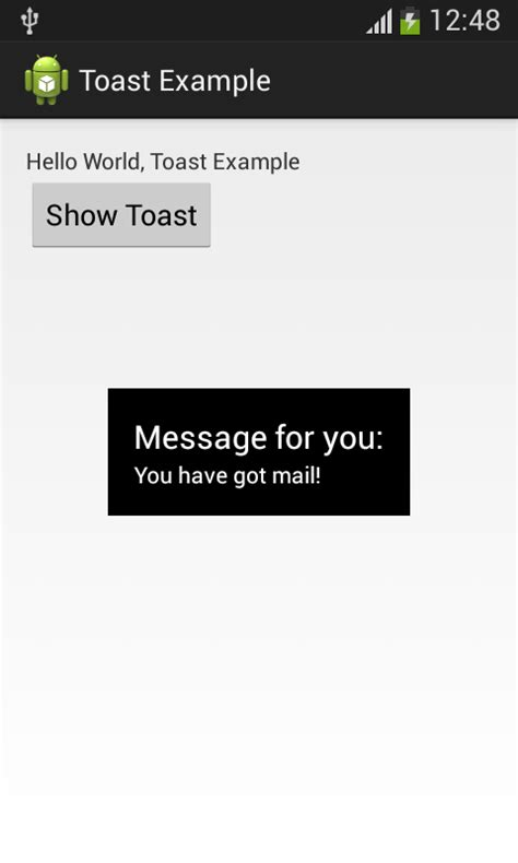 android toast exle android toast android development