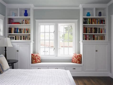 window seat bookshelf window designs for bedrooms bedroom casement windows