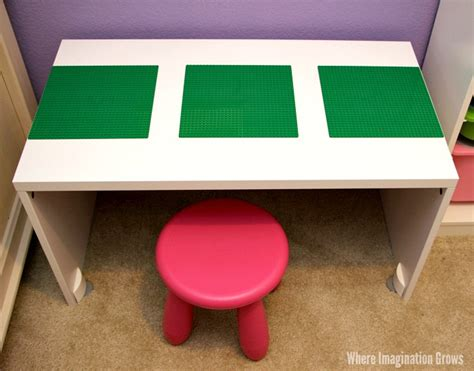 diy lego table adhesive calm corner for with diy lego table where imagination grows