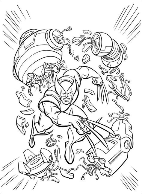 evil robot coloring page 49 best images about superheroes on pinterest coloring