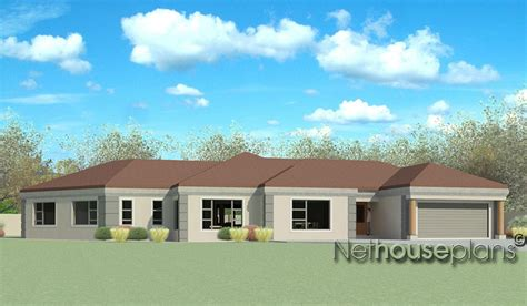 4 Bedroom Tuscan House Plans by T358 Nethouseplans