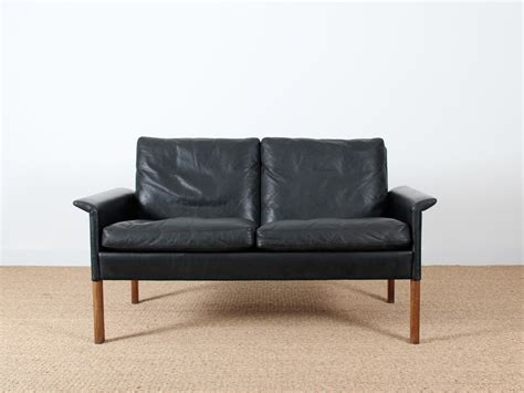 canape en cuir noir canap 233 2 places en cuir noir mod 232 le 500 galerie m 248 bler