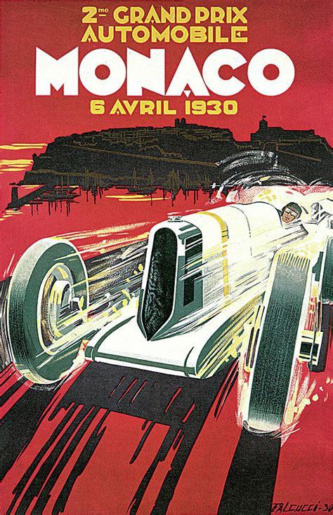 grand prix monaco photograph by vintage automobile ads and - 1325268909 Art Automobile A Monaco