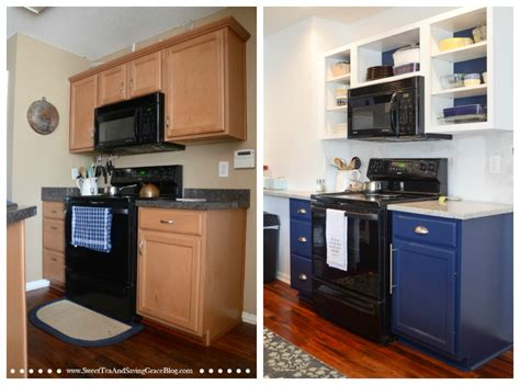Updating Kitchen Cabinets On A Budget How To Update Kitchen Cabinets On A Budget Sweet Tea Saving Grace