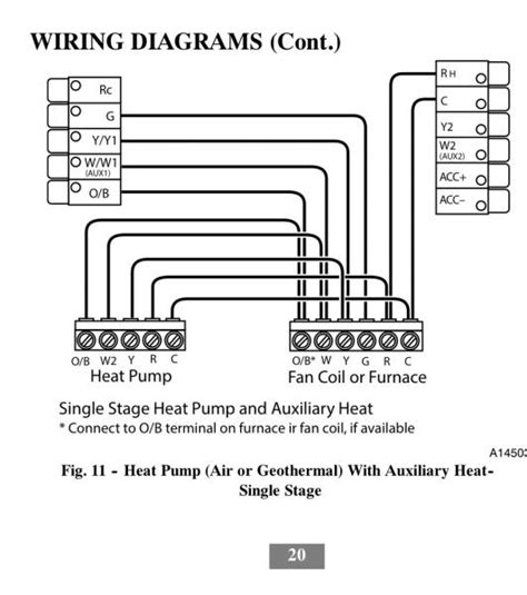 carrier thermostat wiring diagram 28 images carrier