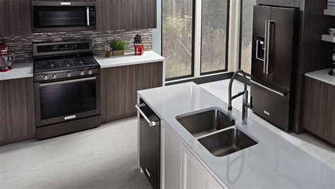 latest kitchen appliances kitchen appliances trend black is the new black