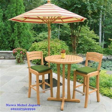 Set Kursi Bar Jati set meja kursi bar payung jati jual meja dan kursi