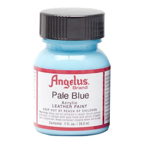 angelus paint stores buy angelus leather paint 1 oz pale blue