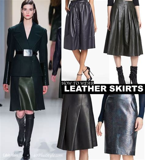 how to wear leather 40