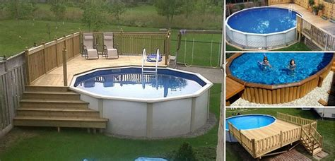 How To Build A Pool House by How To Build A Deck Around A Pool Home Design Garden