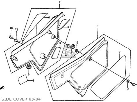 honda tl125 parts diagram car repair manuals and wiring