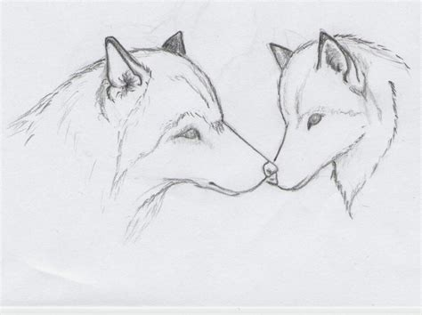 Sketches Wolf by Wolf Sketch Templates