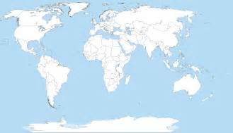 Blank Map Of Earth by File A Large Blank World Map With Oceans Marked In Blue