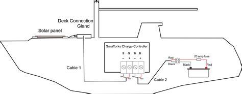 caravan solar system wiring diagram typical solar panel