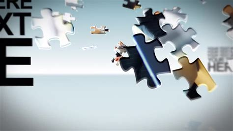 Puzzle Pieces After Effects Templates Motion Array Puzzle After Effects Template