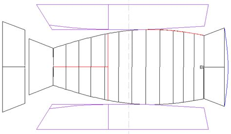 printable paper boat template rowing boat plans in steel 3d selly marcel