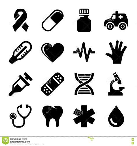 imagenes vectores salud iconos m 233 dicos y de la salud fijados vector ilustraci 243 n