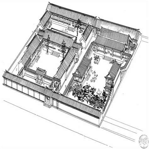 traditional chinese house floor plan 17 best images about siheyuan chinese courtyard house on