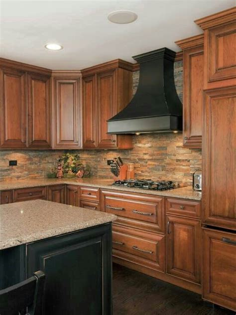 stacked stone kitchen backsplash stacked stone backsplash deb pinterest
