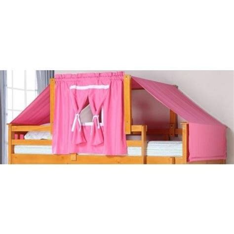 Bunk Bed With Tent Bunk Bed Tent Kit Pink