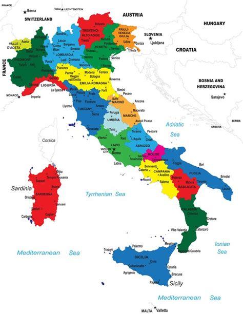 carta di soggiorno italia carta da parati la mappa politica d italia pixers