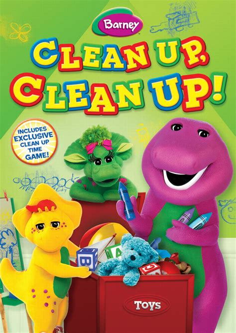 clean up barney clean up clean up creative madness