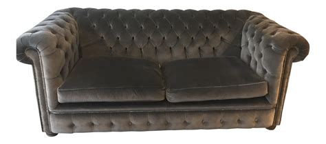 chesterfield sofas london london chesterfield loveseat sofa chairish