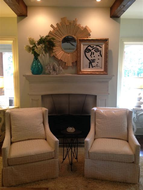 chairs in front of fireplace fabulous friday before and after providence design