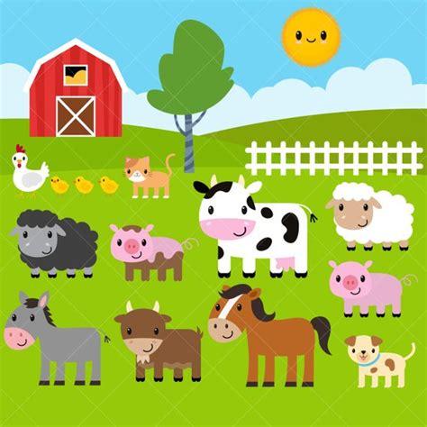 farm animal clipart farm animals clipart farm clip barnyard animals