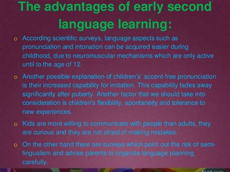 Learning A Second Language second language learning