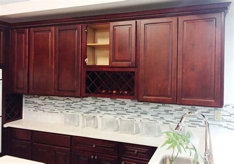 finish kitchen cabinets cherry finish square maple kitchen cabinets