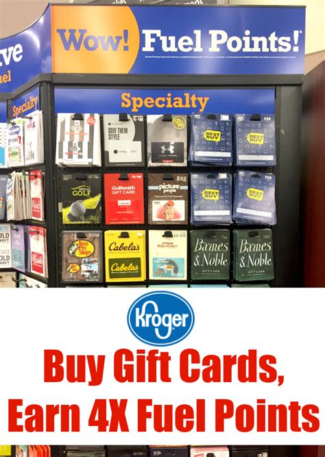 Kroger Gift Cards 4x Fuel Points - kroger 4x gift card fuel points infocard co