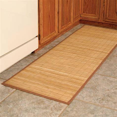 Bamboo Kitchen Floor Mat by Bamboo Floor Mat Bamboo Runner Large Bamboo Mat
