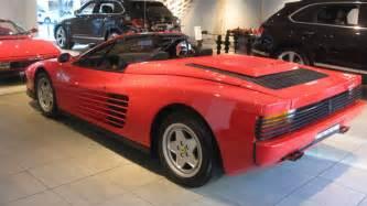 Testarossa Review 1989 Testarossa Convertible Review Top Speed