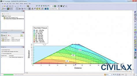slope w tutorial geostudio 2012 seep w tutorial civil engineering downloads