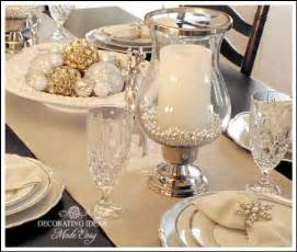 Victorian Style Christmas Ornaments - christmas table setting ideas create a white christmas table
