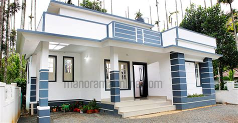 kerala home design in 5 cent 730 square feet single bedroom kerala home design at 4 5